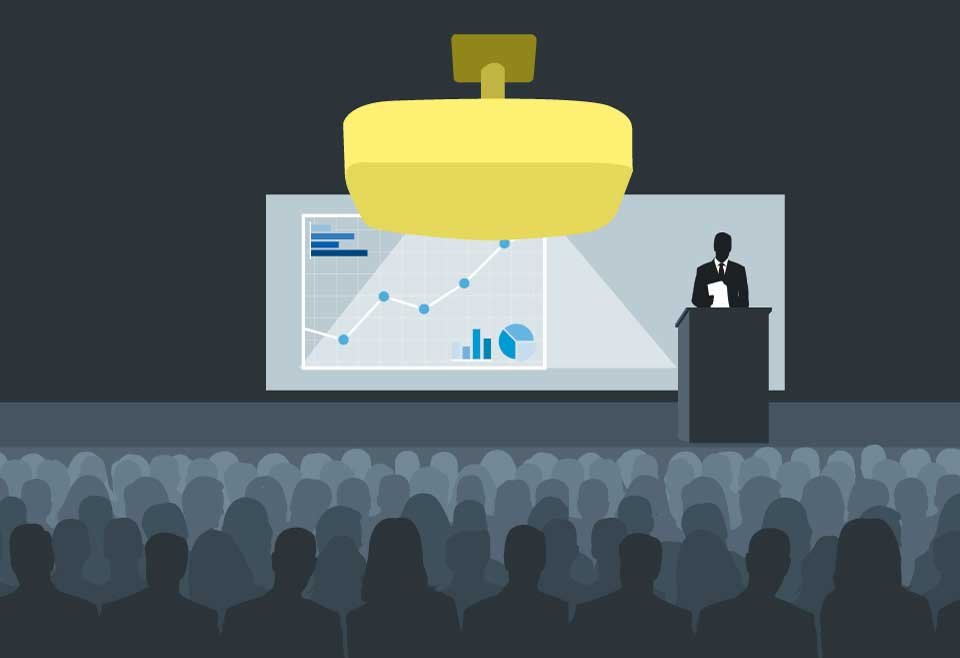 ویدئو پروژکتورهای مخصوص نصب و راه اندازی ثابت و مناسب محل برگزاری بزرگ