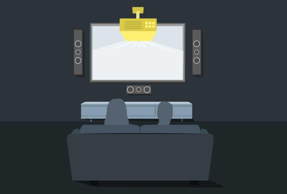 ویدئو پروژکتورهای سینمای خانگی