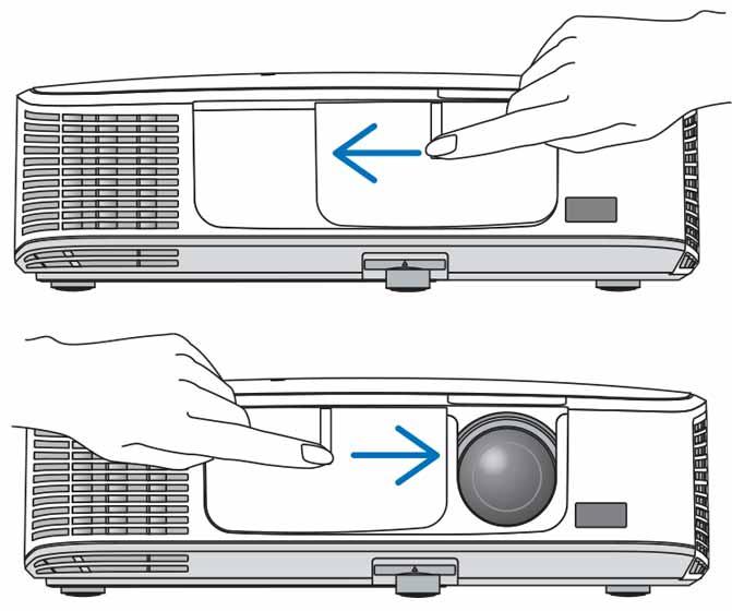 درپوش لنز ویدئو پروژکتور ان ای سی NP-M271XG