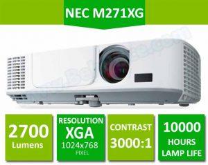 تصویر مشخصات کلیدی ویدئو پروژکتور NEC-M271XG