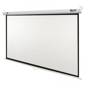 SCOPE Manual Projector Screen 2x2