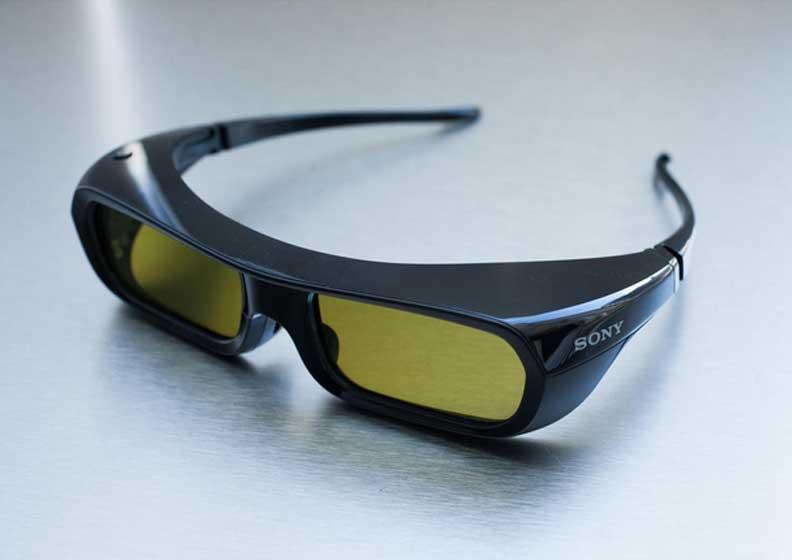 تصویر عینک سه بعدی برای پروژکتور SONY HW40ES