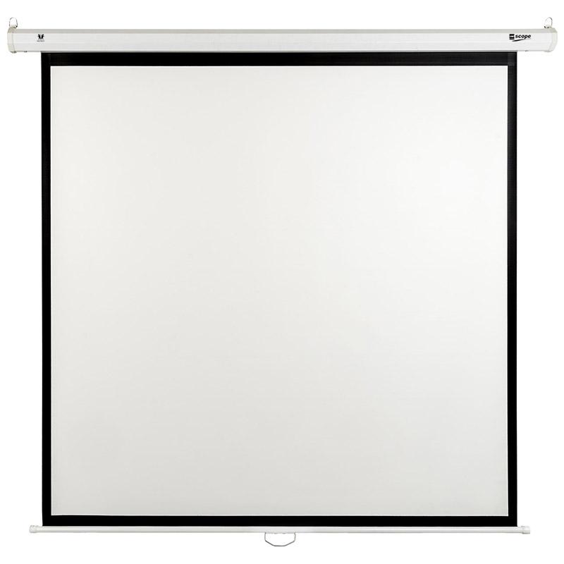 SCOPE Manual Projector Screen 2.5x2.5