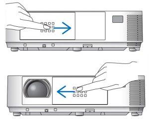 درپوش لنز پروژکتور ان ای سی NEC-M323X