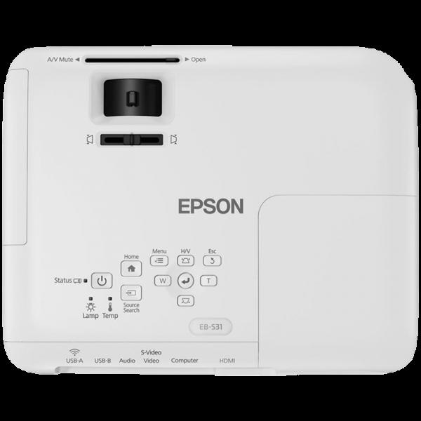 تصویر ویدئو پروژکتور EPSON EB-S31