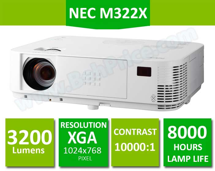 ویدئوپروژکتور ان ای سی مدل NEC NP-M322X