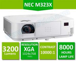 مشخصات اصلی ویدئو پروژکتور NEC-M323X