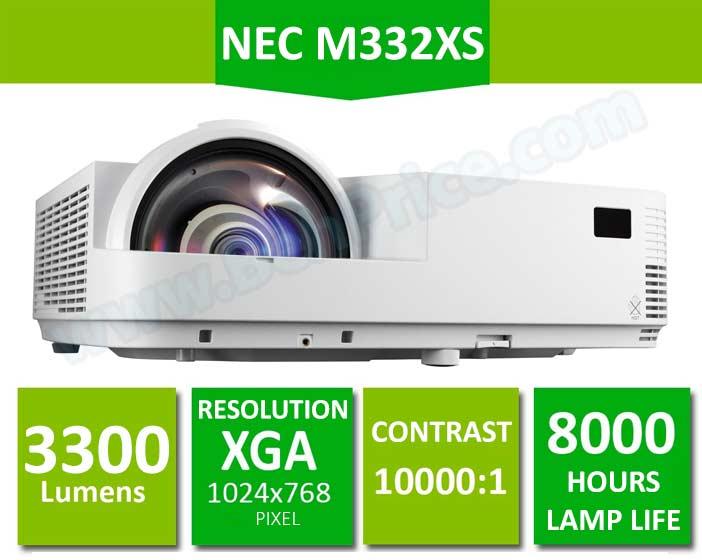 NEC-M332XS-Projector