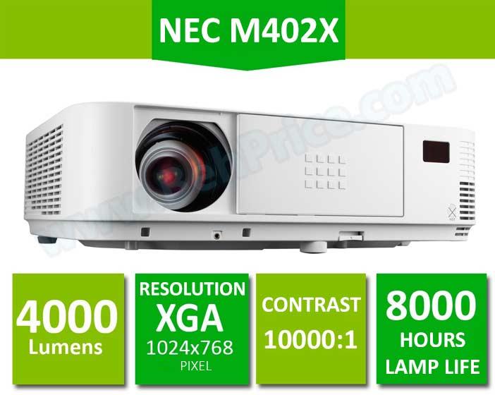 NEC-M402X-Projector