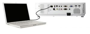 ورودی یو اس بی ویدئوپروژکتور NEC NP-M363X