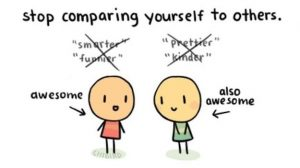 اشتباه نهم: مقایسه خود با دیگران