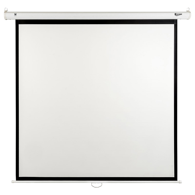 SITRO - Manual Projector Screen 180 x 180 - Fiberglass