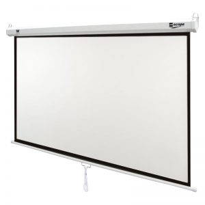 SITRO - Manual Projector Screen 180 x 180 - Fiberglass