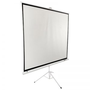 SITRO Tripod Projector Screen 200 x 200 - Fiberglass