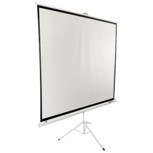 SITRO Tripod Projector Screen 200 x 200 - Matt White