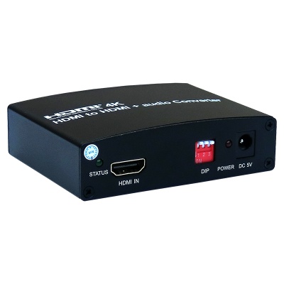 HDMI to HDMI+Audio Converter
