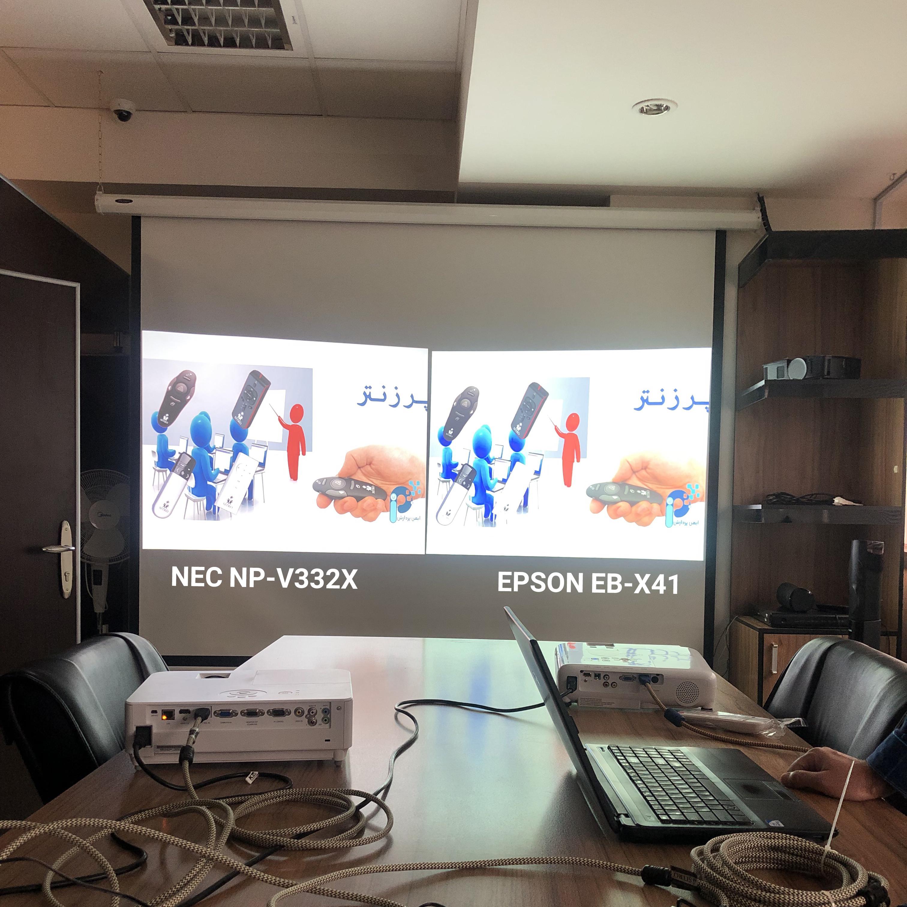 EPSON EB-X41 VS NEC NP-V332X