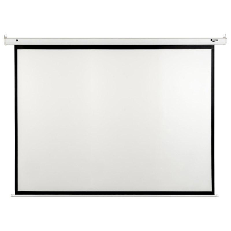 SITRO - Electric - Projector Screen - 4×3 - Matt White