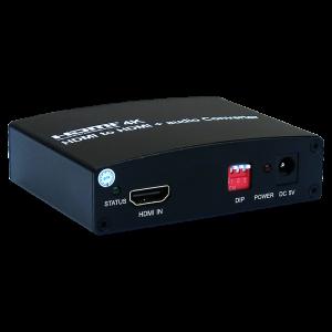 HDMI to HDMI+Audio Converter